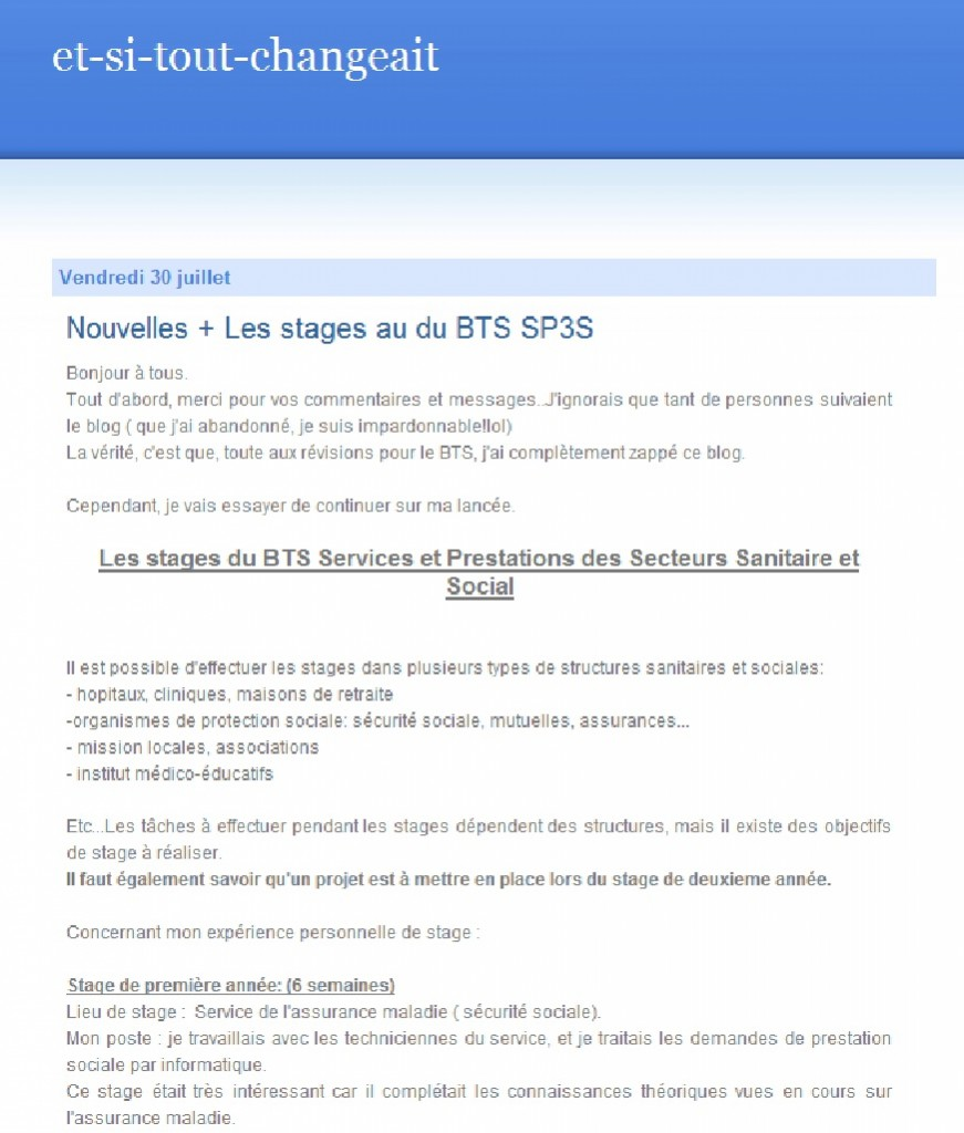 Exemple Note De Synthese Bts Esf 1ere Annee Document Online